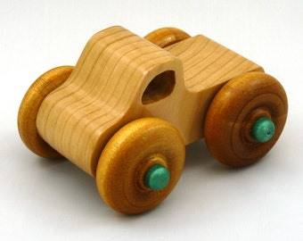 Monster Truck, Wooden Toy Truck, Toy Truck, Wooden Truck, Play Pal, Pickup, Handmade, Handcrafted, Wood Truck, Wood Toys