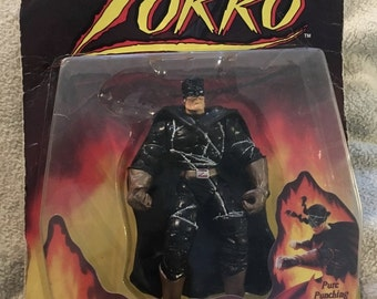 1997 Zorro BARBED WIRE ZORRO with Punishing Punching Action