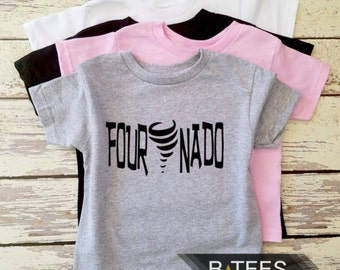 Fournado T-shirt  / Birthday T-shirt / Fourth Birthday Tee