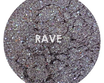 Shade Beauty Rave Teal Green Shimmer Purple Mineral Eyeshadow Pigment Cruelty Free & Vegan, Duochrome Eyeshadow, Teal Eyeshadow