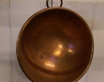 Copper chefs bowl