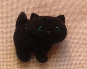 Adorable Vintage Hallmark Black Cat Pin