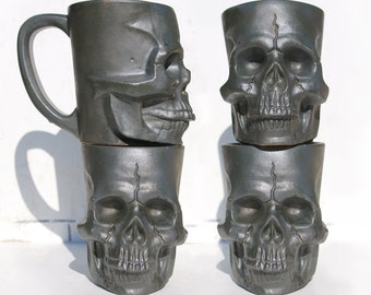Skull Mug - Ceramic Skull Coffee Mug