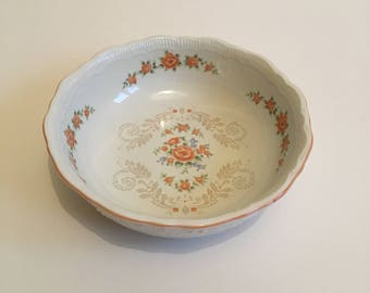 St Michaels Vintage Floral China Plate