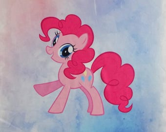 Pinkie Pie My Little Pony French Terry Panel