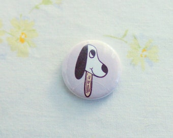Puppy Pin / Dog Pin  / Dog Pins / Dog Buttons / Beagle Button / Beagle Pin / Dog Pinback Button / Dog Pinback Buttons /