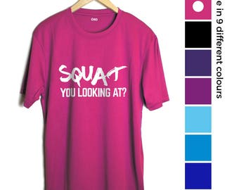 Cuvres Gymwear T-shirt Squat You Looking At (18 - 28)