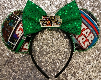 Cosmic Comic Ears, Star Wars Ears, Star Wars Disney Ear, Star Wars Comic Ears