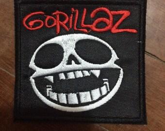 Patch Gorillaz - British Virtual band - Alternative Rock - Electronica - Altyernative Hip Hop - Trip Hop