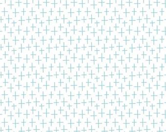 Creative Rockstar - Rockstar Surfing - Aqua, Fabric Yardage, 100% Cotton
