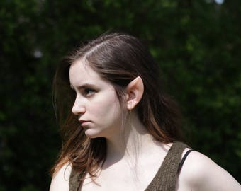 Wood Elf Silicone Ears - Elven Link Cosplay LARP - Elf ear tips