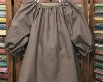 Girls dress, Girls peasant dress, Little girls dress, Toddler dress, Girls fall or winter dress, Boho girl dress, Size 2,  #116