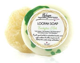 Eucaluptus Mint Loofah Soap