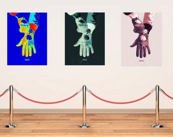 Drive movie poster art print ryan gosling large size