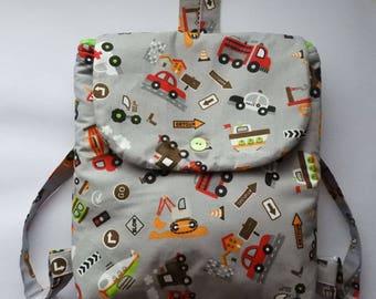 Kids Car Backpack