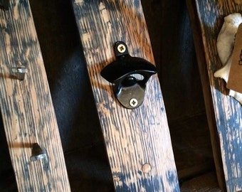 Whisky Barrel Stave Bottle Opener