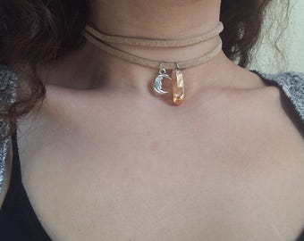 Double-Wrap Sunkissed Choker