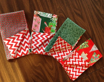 Fun, funky, double-sided holiday napkins