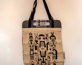 Tote Bag beige Africa Sexual