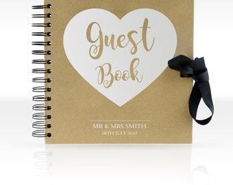 Personalised Scrapbook/ Photo Album 8x8 inches (Guest Book)