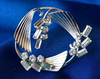 Carl Art Vintage Signed Sterling Silver Brooch, Vintage Carl Art Brooch, Vintage Sterling Silver Brooch, Silver Brooch, Vintage Silver Pin