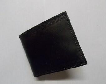 Vegetable tanning leather pocket portfolio
