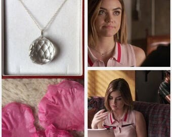 SALES -50%!!! crystal necklace silver inspired by aria montgomery on pretty little liars , PLL jewerly , pretty little liars jewerly