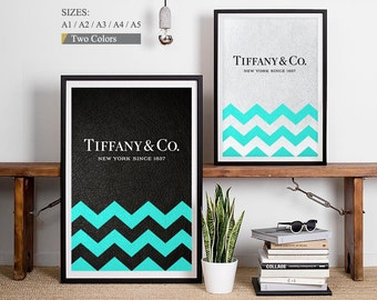 Tiffany and Co Decorations Tiffany Blue Chevron Arrows Mint To Be Wall Arrows Mint and Arrows Tiffany and Co Party Tiffany Party Mint Decor