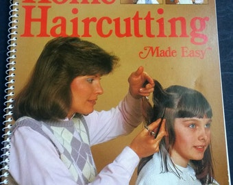 Home haircutting made easy step by step guide, hair cutting made easy book, hair styling lessons