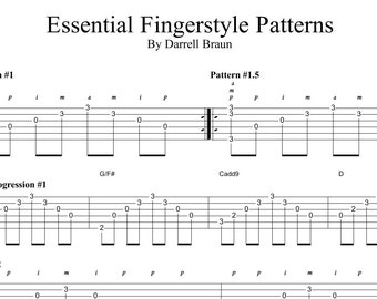 Essential Fingerstyle Patterns!
