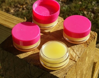 Oganic peppermint lip balm.