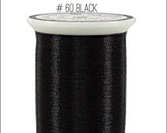Black Superior Metallic Thread