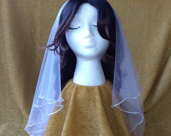 Cinderellie's Veil-ie - Elbow Length Bridal Veil