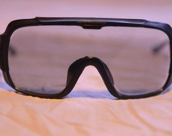 Ultra rare vintage Carrera ski black mask from the 80's made in Austria 5510 Perfect
