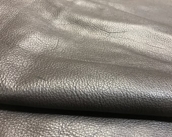 Chocolate Brown Leather: Cow Skins Natural Pebble Grain 2.5-3 oz Leather Perfect for Handbags, Shoes, Garments, and LEATHER CRAFTS