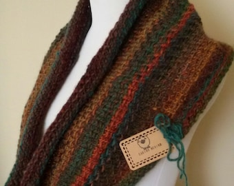 Colors of Autumn Infinity Scarf
