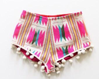 Cotton Printed Shorts