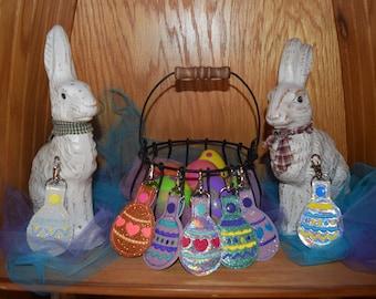 CUSTOM Easter Egg Keychain