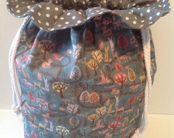 Drawstring bag, Shoe bag, Gym bag, Lingerie bag, Beach bag, Laundry bag.
