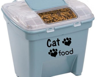 Cat Food Decal - #114