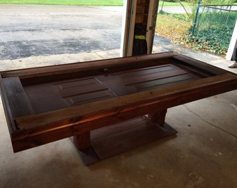 SALE!! Hand Crafted Large Shadow Box Farm Table