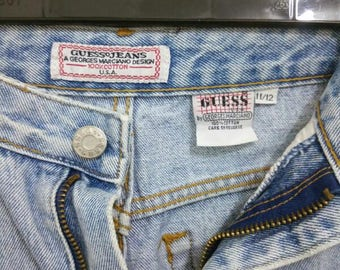 Vintage 80's Guess Jeans USA Georges Marciano Size 30
