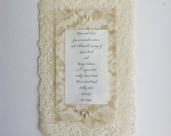 Climbing Rose invitation