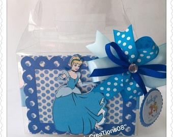 6 Cinderella Favors Box
