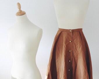 Vintage 1960 skirt made in france 100% cotton
