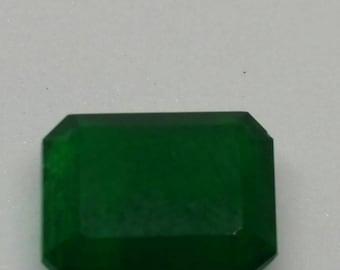 Natural Emerald dark green