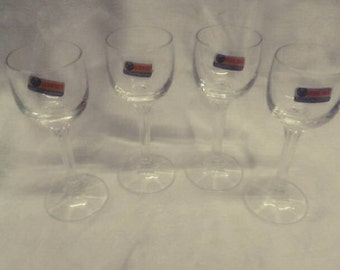 Bohemia Czechoslovakia Crystal liquor glasses 1970s