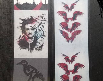 Edgar Allen Poe  The Raven Nevermore bookmark