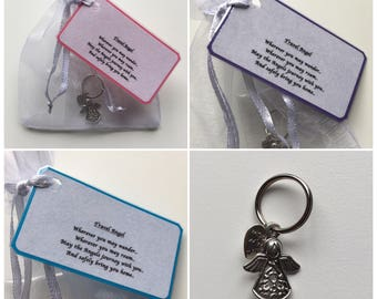 Guardian Angel Keepsake.. Travel Angel.. Safely Bring You Home.. His/Her Gift
