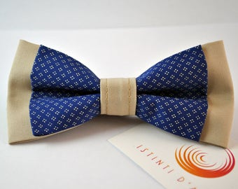 Handmade bow tie for men made up of cotton fabric